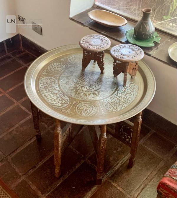 Mesa de chá Marroquina