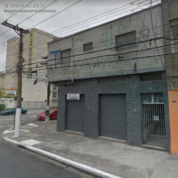 2/6 (33,33%) de um prédio e terreno na Rua Tabor nºs 341 e 349